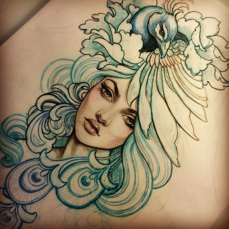 #tattoo #peacock