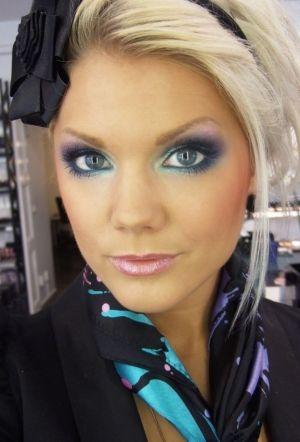 Linda Hallberg - makeup artist by FOXYQUEEN