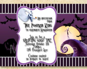 Spooky Baby Shower Invitations   Google Search
