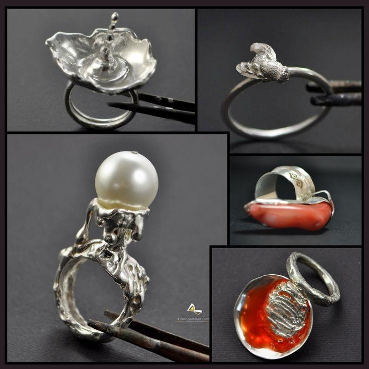Bijuterii din #argint #handmade - Anamaria Dobras