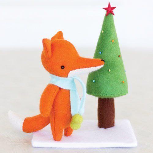 """Christmas Tree for Kip"" designed by Simone Gooding for May Blossom."
