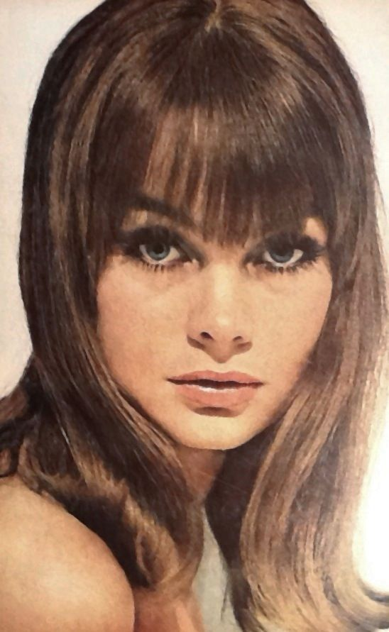 Jean Shrimpton in Glamour July 1964 photographed by Sante Forlano Thanks to Jane Davis