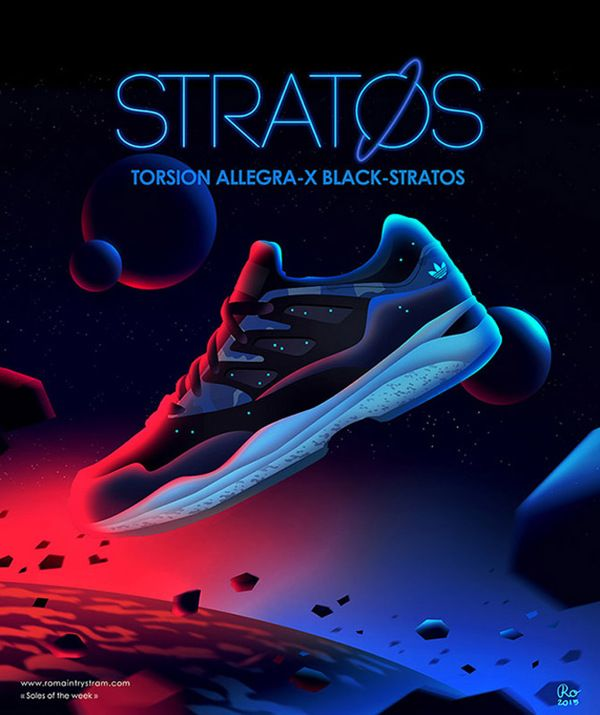 Out Of This World Designs For Posters Of Popular Tennis Shoes Art
