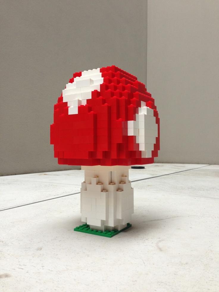 A nicely built LEGO Mushroom