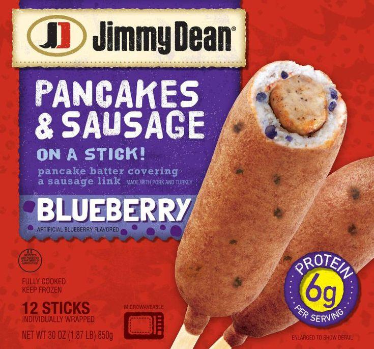 Jimmy Dean Pancakes & Sausage on a Stick Blueberry