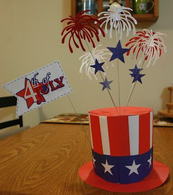 4th Of July Table Centerpiece Patriotic In 2018 Pinterest And Decorations