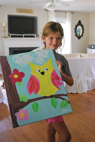 1000 Images About Kids Painting Crafts On Pinterest
