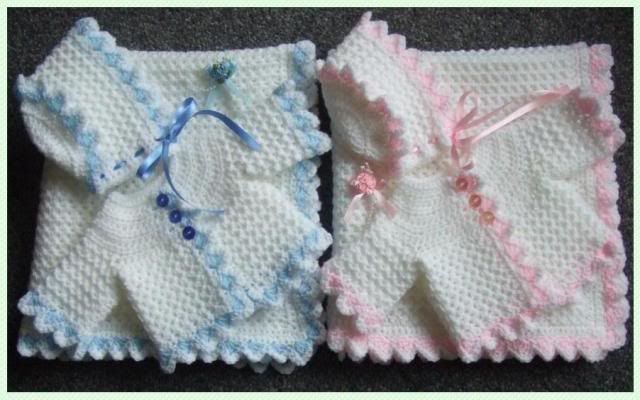 Crochet Layette Girl Free Pattern | Details about A PATTERN TO CROCHET 3 PIECE LAYETTE FOR PREEMIE BABY ...