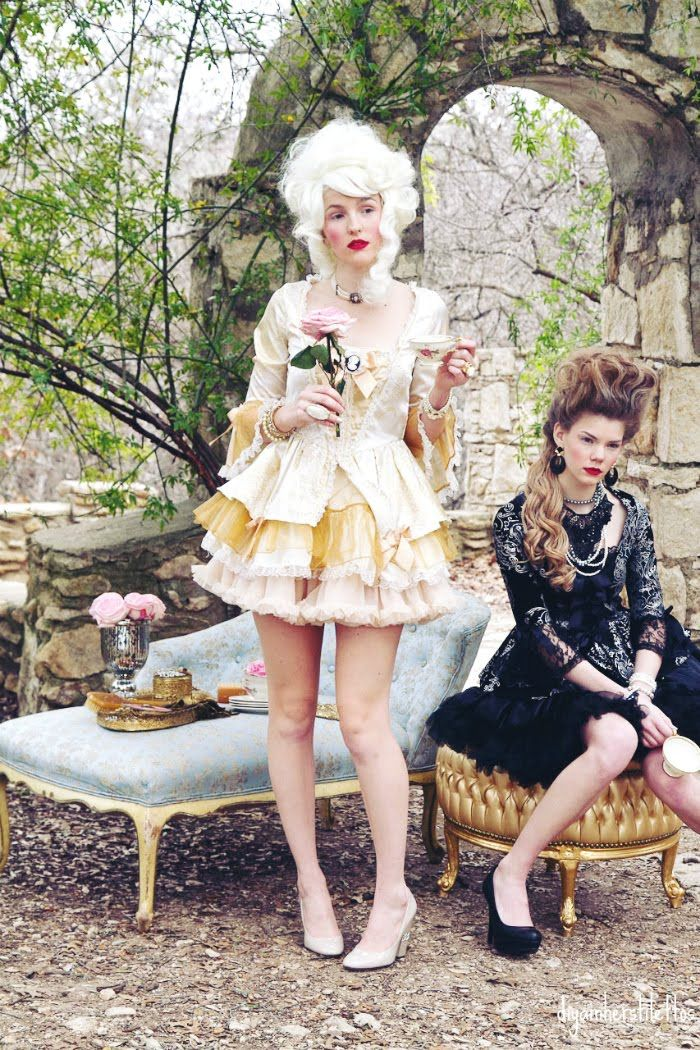 rococo, marie antoinette, fashion photo shoot, editorial, abby richards, boudoir queen, marie antoinette hair,  - Chapter Ten