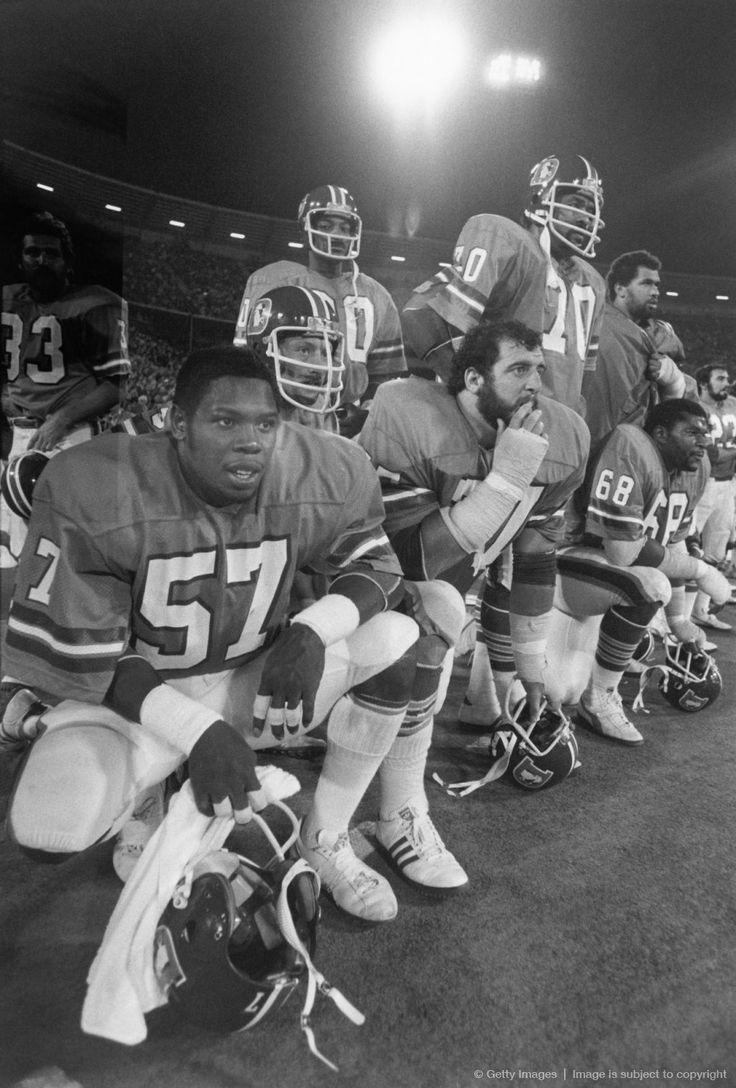 Tom Jackson Lyle Alzado, Rubin Carter among others Orange Crush Defense!!
