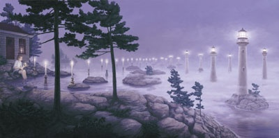 Artist Rob Gonsalves: Original Surreal Paintings and Prints on Canvas