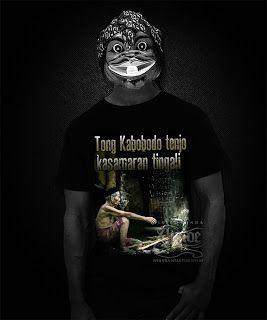 Kaos Sunda Tong Kabobodo Tenjo
