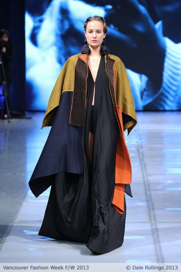 Vancouver Fashion Week Fall 2013 - Adriana Santacruz - Fashion