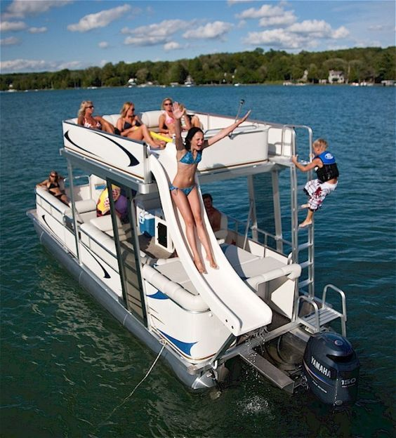 pontoon boat - Google Search | Capture it, remember it | Pinterest | Pontoon boating, Boating ...