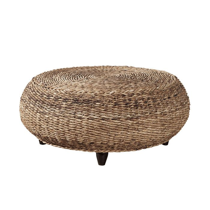 Mandalay Wicker Ottoman & Reviews | Joss & Main