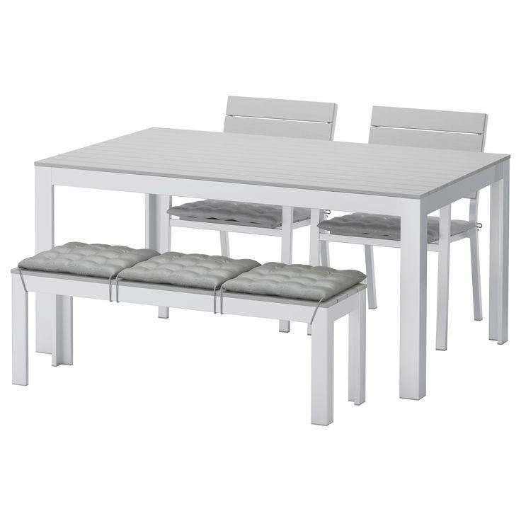 25+ Best Ideas about Gartentisch Grau on Pinterest Graues deck - kleiner küchentisch mit 2 stühlen