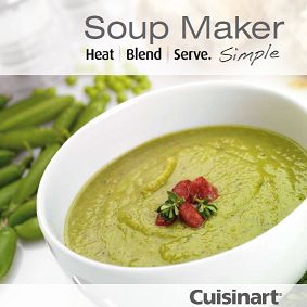Although there is a great little recipe book that comes with the Cuisinart Soupmaker,I came across a Big Cuisinart Soup Maker Recipe Book packed with tons of recipes that are not in the little book...