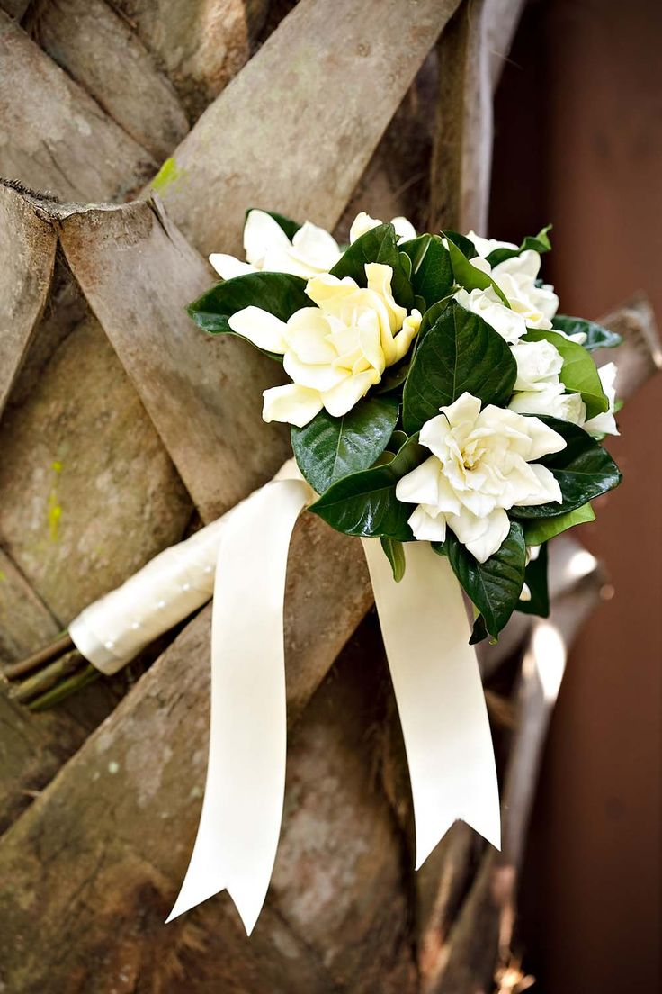 Gardenia Wedding Bouquet  By GG Bloom