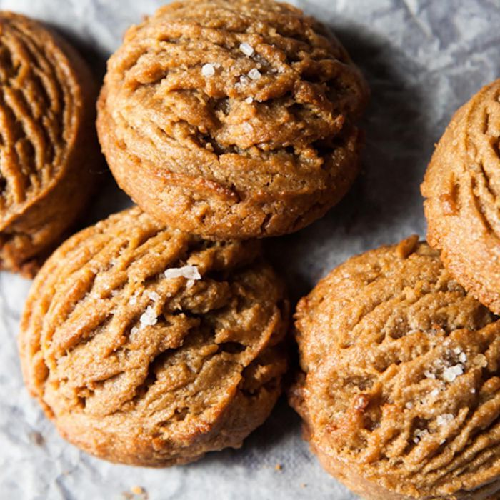 These peanut butter cookies from our Brooklyn bakery Ovenly are super-simple, but completely addictive. Plus, they're gluten-free.