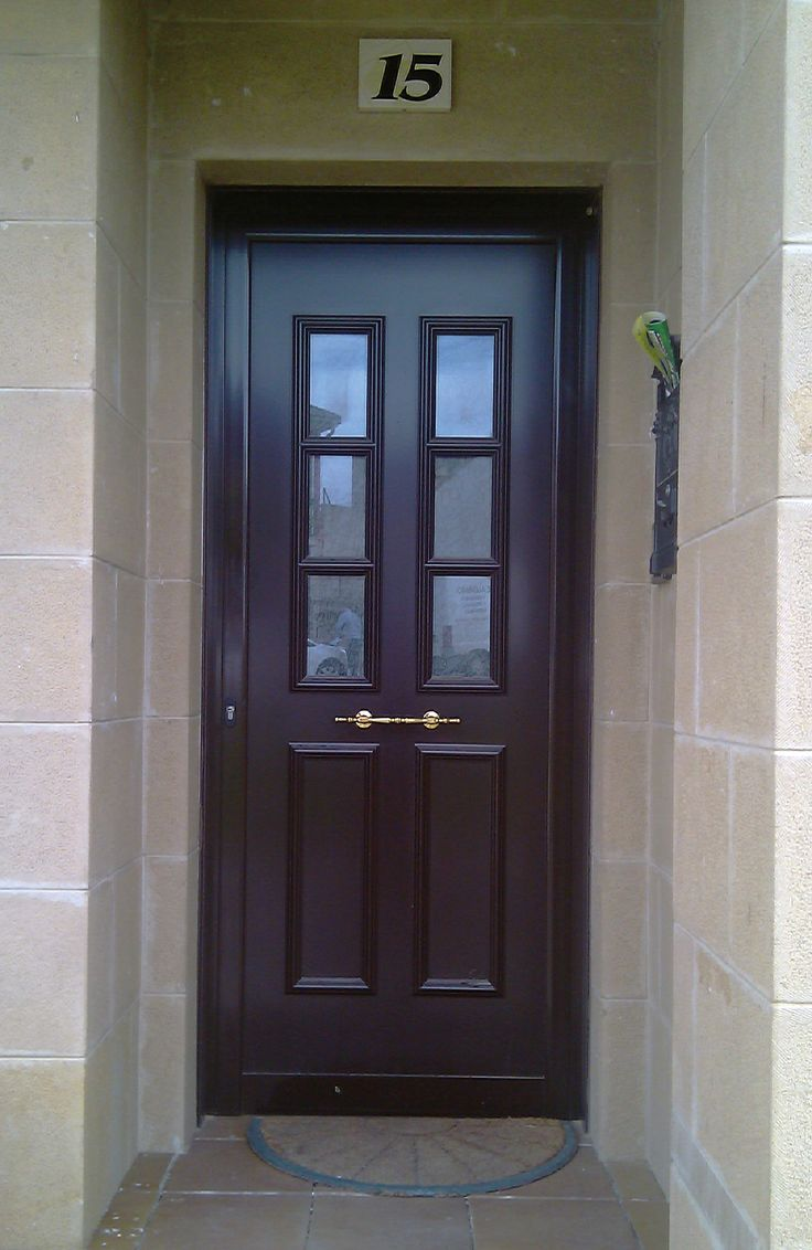 TEMPO HÉLICE Aluminio lacado #indupanel #paneles #puertas #aluminio #pvc #puerta #aluminium  #doors #chalet #decoration #decoracion #hogar #classic #clasica #lacado #madera