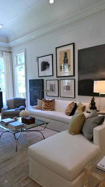 Decorators Showhouse :: Part 1 | The Ace Of Space Blog | contemporary traditional living room - awesome!
