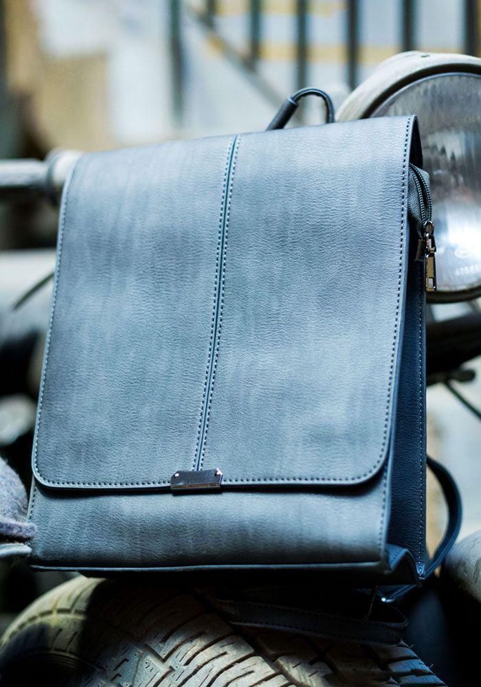 Τσάντα backpack με καπάκι