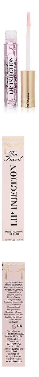 Lip Plumper: Too Faced Lip Injection Power Plumping Lip Gloss For Women 0.14 Ounce -> BUY IT NOW ONLY: $33.88 on eBay!