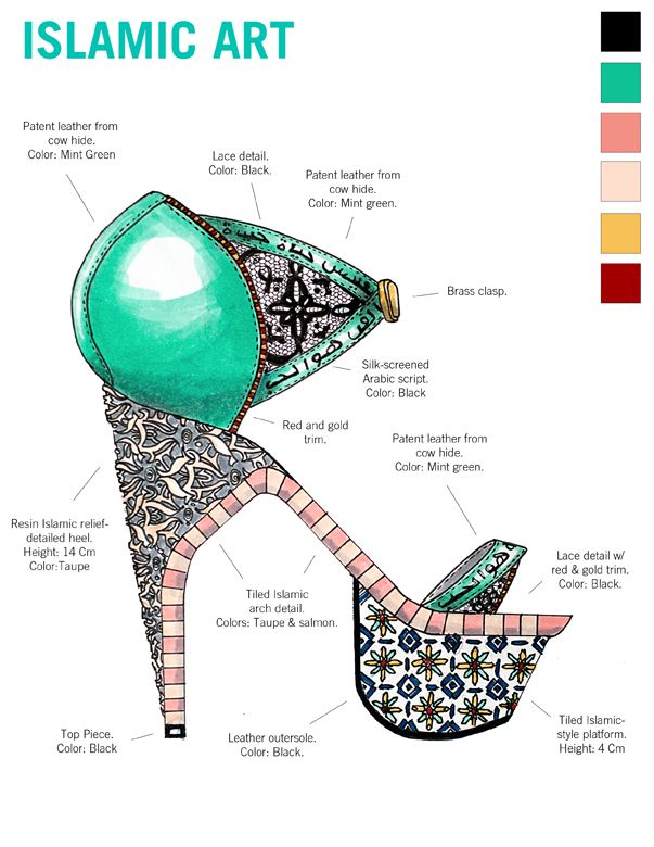 WOW- I would wear those heals. check out the link for the rest of the historic art heels