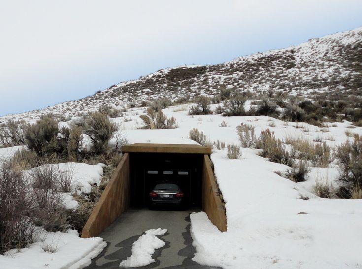 Entrance To Underground Parking Garage Underground