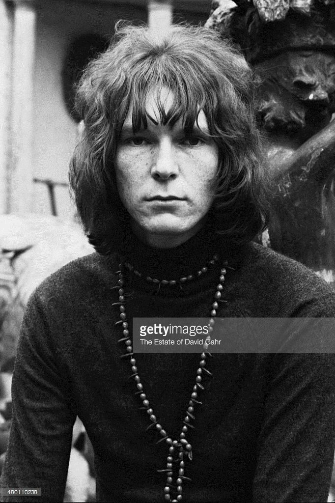 Progressive rock bassist Chris Squire of English progressive rock band Yes poses for a portrait in July 1969 in London, Great Britain.