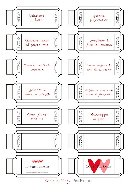 Free Printables Love Coupons For Him