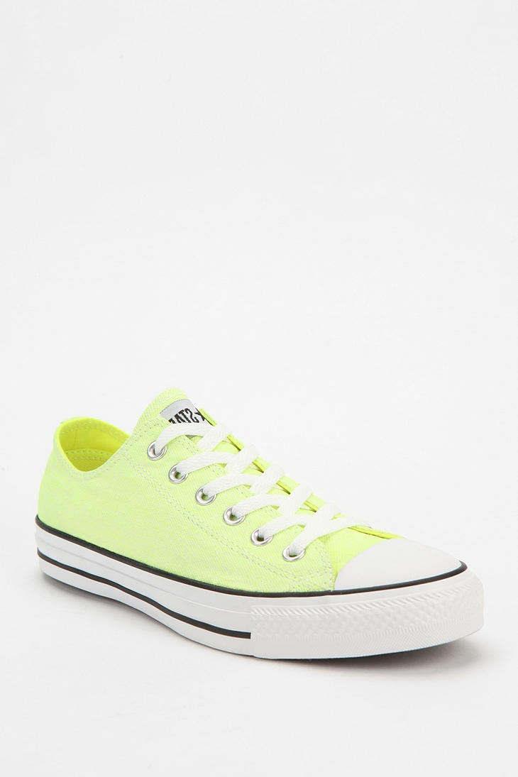 Converse Neon Chuck Taylor All Star Low-Top Sneaker #UrbanOutfitters