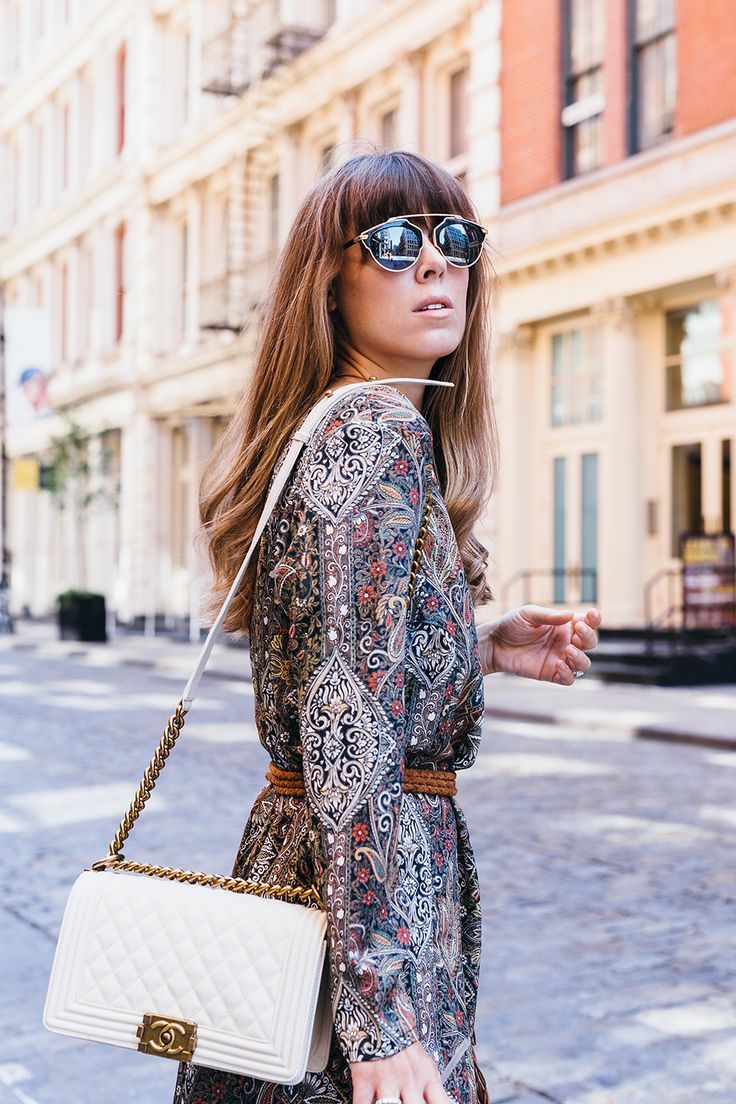 Dior sunnies and Chanel Boy bag