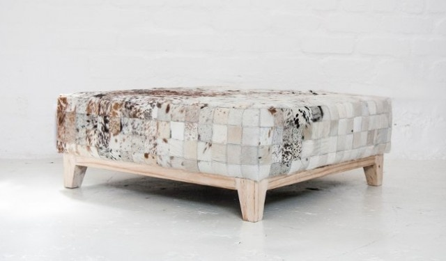 The Patchwork Ottoman | A luxury, African-infused decor accessory…  | pinned at www.africacrafttrust.org.za