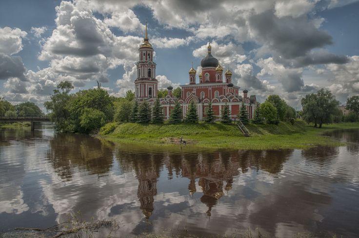 Воскресенский собор... (Россия, Staraya Russa)