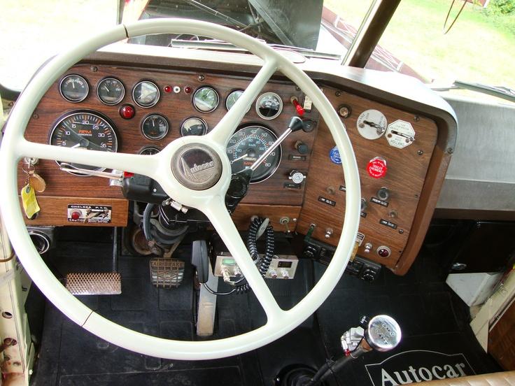 1978 autocar single axle tractor rare gks64tb glider kit used