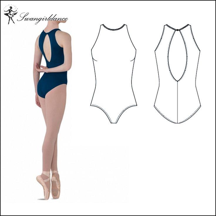 Adult black ballet leotards for girls Ballet clothes for wowen gymnastics leotardsCS0064 #Affiliate