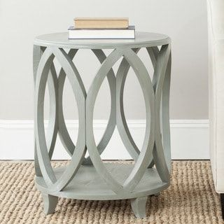 Shop for Safavieh Janika Ash Grey Accent Table. Get free shipping at Overstock.com - Your Online Furniture Outlet Store! Get 5% in rewards with Club O! - 15217067