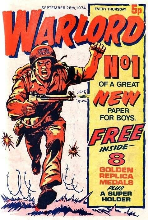 Warlord Comic. I remember having 100's of these as a kid.