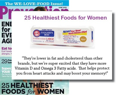 Prevention Magazine 25 Healthiest Foods for Women 2010 #egglandsbest: Healthiest Food