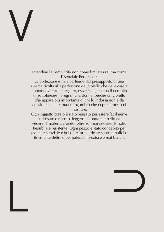 Federica Chiarini - Vulcan Collection 2014