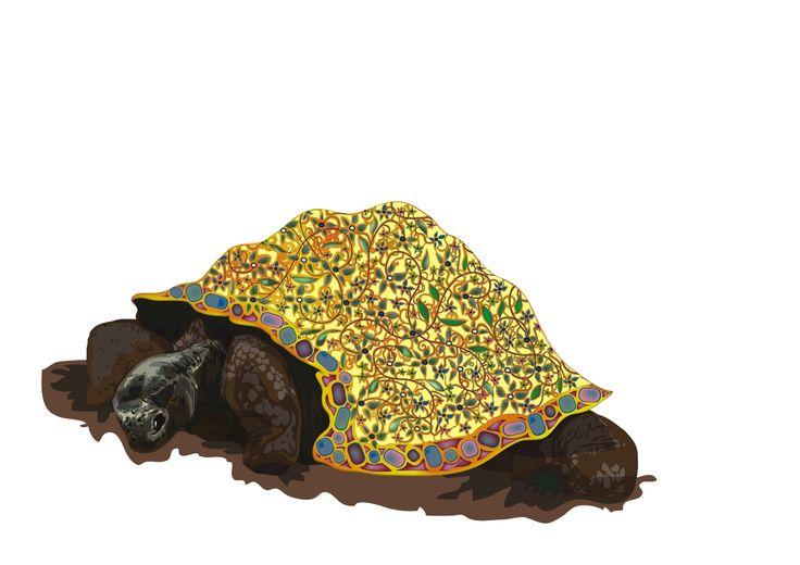 Gilded Tortoises & Ties - T H E G I L D E D L I L Y