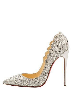 From flats to platforms, kitten heels to stilettos, we've gathered the best gold, silver, neutral and white wedding shoes