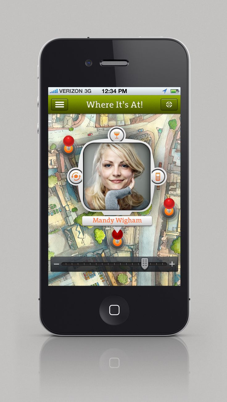Where It's At! iOS app