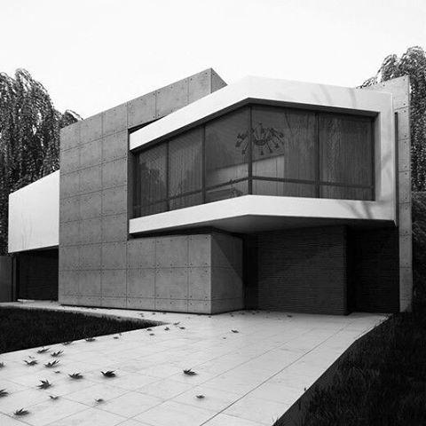 Angulation House, Kiev Design Studio Workshop, Sergey Makhno.  #tumblr #inspiration
