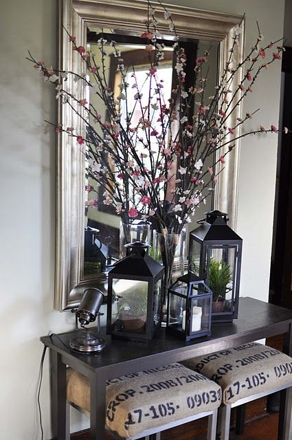 Foyer Bar Ideas : Best foyer table decor ideas on pinterest console