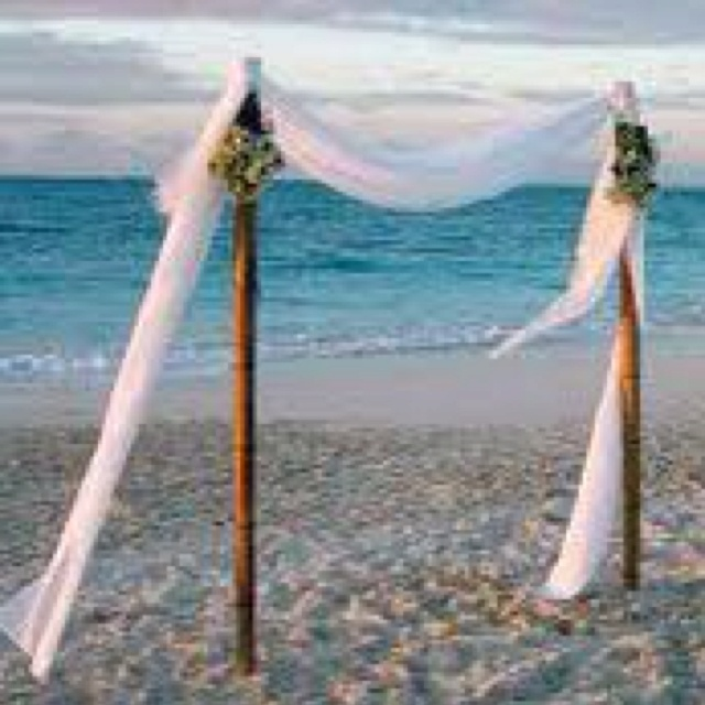 Wedding Arch Diy Ideas: Beach Wedding Arch