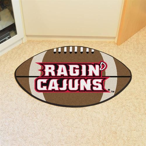 Louisiana Lafayette Football Floor Rug Mat