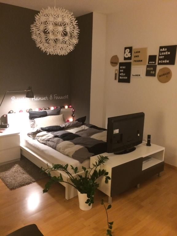 die besten 25 kleine zimmer ideen auf pinterest dekor. Black Bedroom Furniture Sets. Home Design Ideas