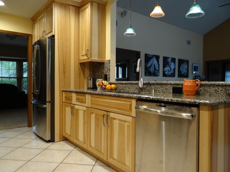 Kitchen Remodeling Project Features Natural Finished